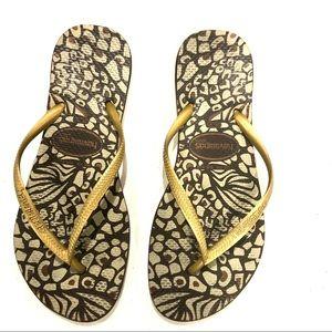 Havainas Flip Flops.  Size 39/40